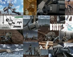 Attack On Titan 3D Gear Compilation (Anime) by animesoundtracklover