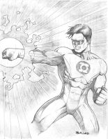 Green Lantern by Sajad126