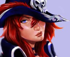 MISS FORTUNE_ LEGUE OF LEGEND by whoisyourdady