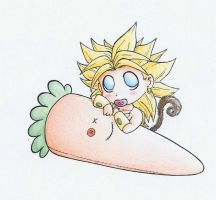 OMG Chibi Brolly by Carrie-Tempest