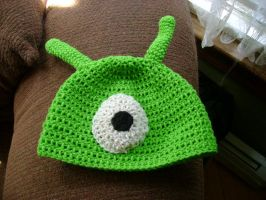 Brain Slug Hat from Futurama by CodiBooher