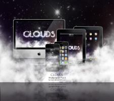 CLOUDS Wallpaper Pack by wellgraphic