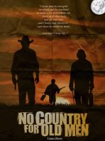 No Country For Old Men Retro Poster by LTRees