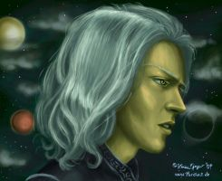 Raistlin Majere by karchew