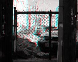 Chainlink Anaglyph by Temphis