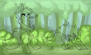 Walkies W.I.P by FacePalmzGodDammit