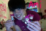 Me with my 3 Ami dolls by ShatteredPrismRose23