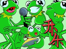 Anime Kermit Wallpaper by dhulteen
