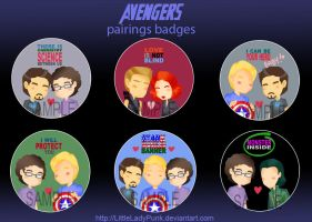 +A: Pairings Badges by LittleLadyPunk