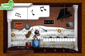 Music Level: LBP2 contest by PhilJacques