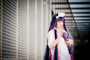 Stocking - Panty and Stocking (Nurse Version) by oShadowButterflyo