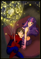 Spiders and Magic: Rooftop Date by Jamal2504