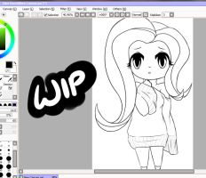 Chibi Flutters WIP by DoctorPiper