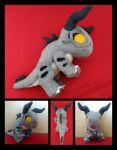 Deathclaw Floppy Plush by Lighiting-Dragon