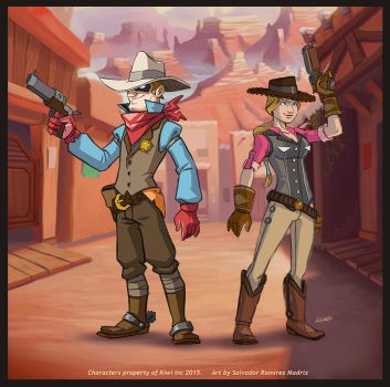 Shooters - characters concept by ReevolveR