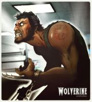 Wolverine by juliodelrio