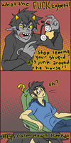 How to Calm Down a Karkat by Manicfool
