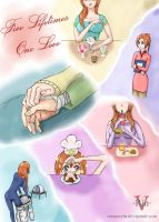 IchiHime week_Day 1_Five Lifetimes, One Love by Verano-Rin