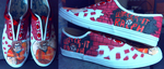 Wreck-It Ralph Shoes by Wolf-Shadow77