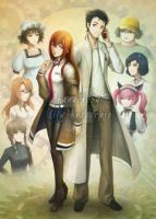 Steins Gate - Relationship by lilythescorpio
