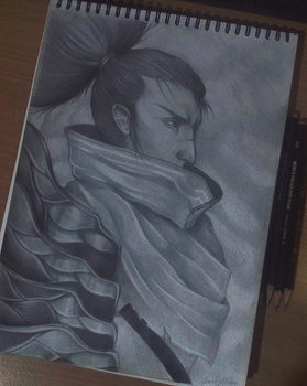 Yasuo by Wonder-heart
