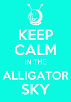 Alligator Sky by Soleospace