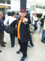 Professor Layton Cosplay by OPlover