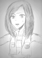 Attack on Titan OC: Leila Williams by iluvoceans