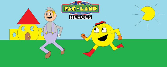 Pac-Land Heros by PacandPinky101