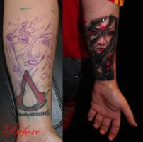 Warrior girl cover up..... by Zsil-works