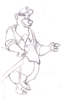 TaleSpin Baloo first try by steetboris