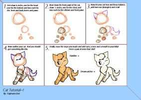 MS PAINT: Cat Tutorial by Tundrapelt