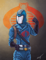 Cobra Commander by WaffleJuey