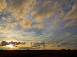Down by the Pylons by davepphotographer