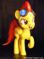 Custom 3D-printed Spitfire [COMMISSIONS OPEN] by Clawed-Nyasu