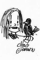 The Crow by Chris Giarusso by duckness