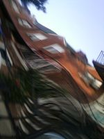 Distorted Building by AERRG