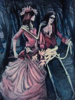 Two corpses in the forest by Ducasse