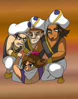Total Drama Alladin by Lostum