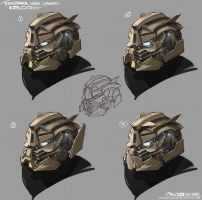 Transformer Head Concept by NuMioH