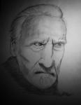 Christopher Lee by JohnHornsby