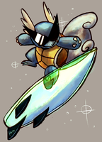 The Surfer by Haychel