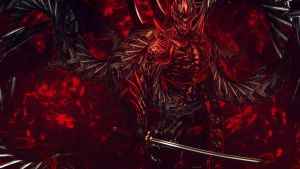 Ninja Gaiden 3 - Razor's Edge Devil Wallpaper by TheSyanArt