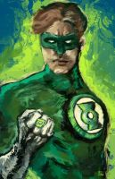 Green Lantern by shaunamobley