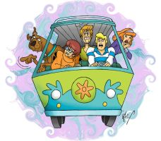 Scooby-Doo by gjones1