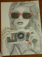Girl and camera by KarenNicole97