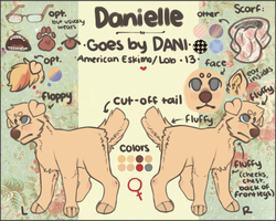 Dani Ref {NOT CURRENT!!} by specbear