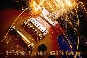 electric guitar by mondspeer