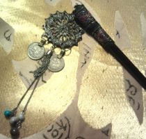 Hair Stick: Gothic Fusion by kungfubellydancer
