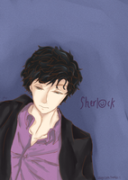 Sherlock and his shirt by ShadowTHM